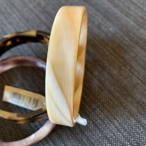 PONO Jewelry - PONO by Joan Goodman Italy. Resin bangles.